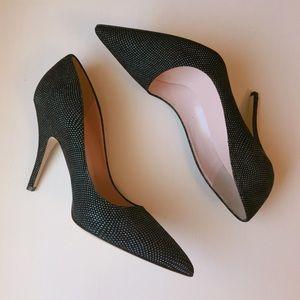 NWT Kate Spade Black Pointed Toe Heels